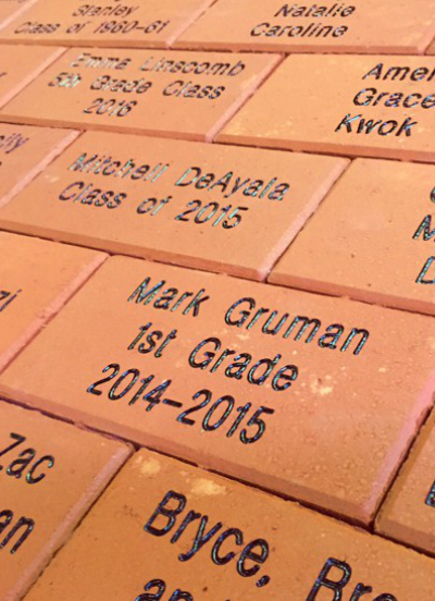 Engraved Paver
