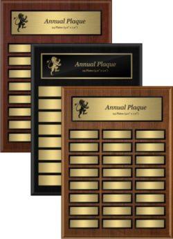 Annual Plaques